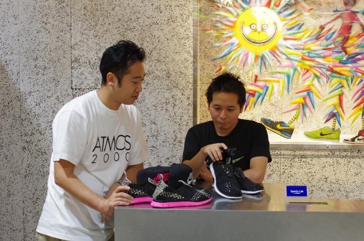Photo02 - 「NIKE DUCK HUNTER CAMO PACK」の発売を前に「Sports Lab by atmos」ディレクターKoji氏と「atmos」プレス佐藤氏をインタビュー