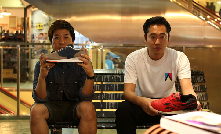 Photo01 - mita sneakers 国井氏 x atmos 佐藤氏「Reebok CLASSIC」インタビュー