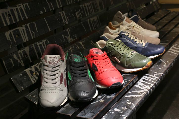 Photo02 - mita sneakers 国井氏 x atmos 佐藤氏「Reebok CLASSIC」インタビュー