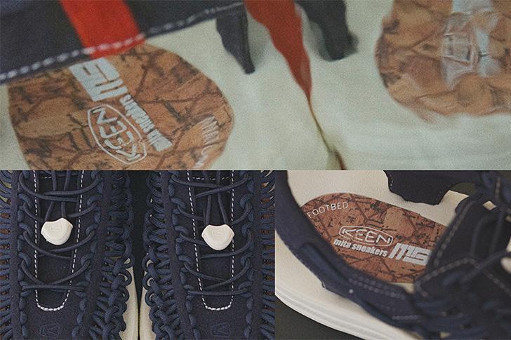 "Photo01 - KEENから、mita sneakersとのコラボレーションモデルUNEEK ""mita sneakers""が登場"
