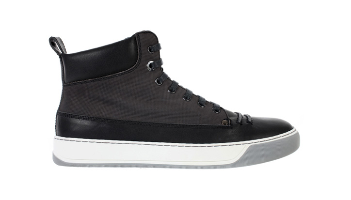 Photo01 - Lanvin Nubuck Calfskin Sneakers