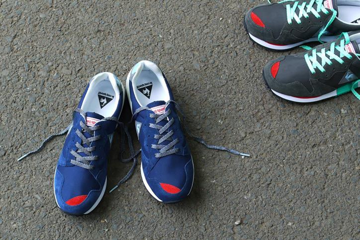 Photo02 - mita sneakers 国井栄之氏がカラーディレクションを手掛けた le coq sportif EUREKA が発売