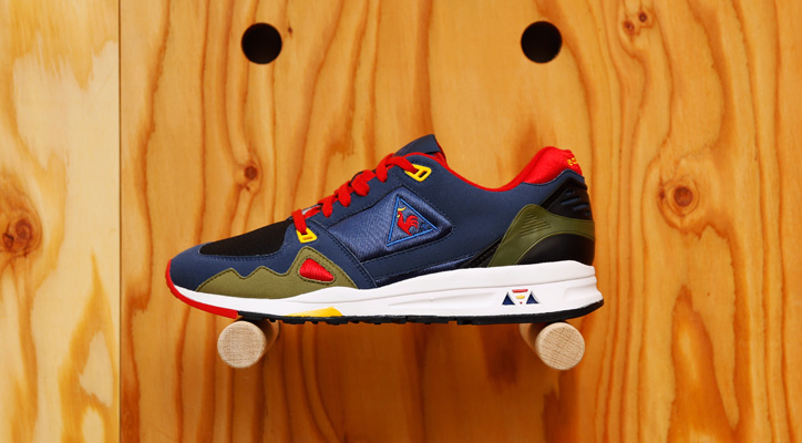 Photo01 - Le coq sportif x BEAMS T 「LCS-R1000」が発売
