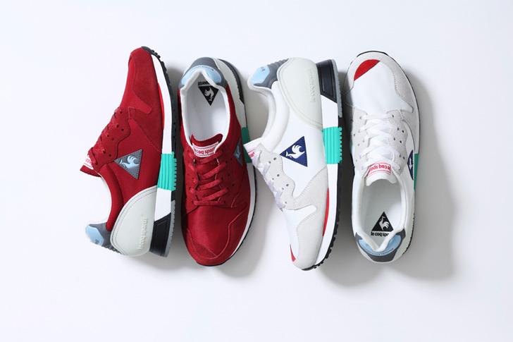 Photo01 - ルコックスポルティフが誇る名作EUREKAから、mita sneakers 国井栄之氏カラーディレクションモデルが登場