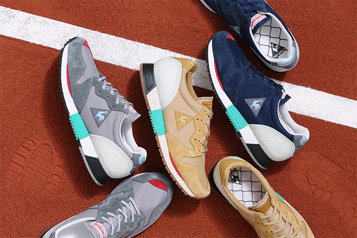 Photo01 - ルコックスポルティフから、mita sneakersクリエイティブディレクター国井氏がカラーディレクションを手掛けたEUREKAがリリース