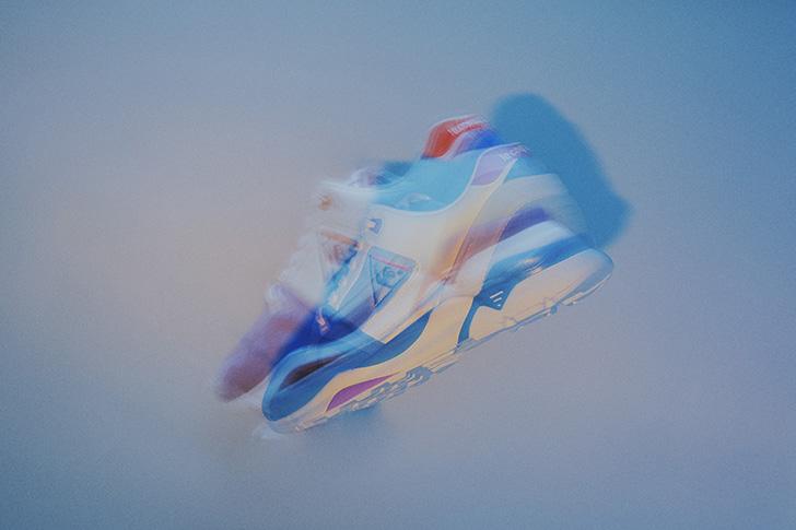 "Photo02 - ルコックスポルティフから、mita sneakersがディ レクションを手掛けたLCS R 921 ""mita sneakers Direction""が発売"