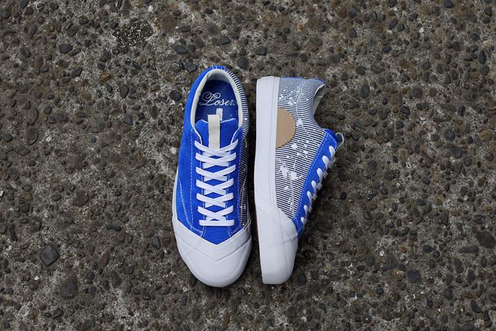 "Photo09 - LOSERS デザイナー sneakerwolf氏がドリッピング加工を施した LOSERS SCHOOLER LO ""Cobalt"" ""mita sneakers x sneakerwolf""を発売"