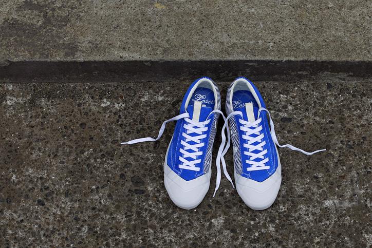 "Photo12 - LOSERS デザイナー sneakerwolf氏がドリッピング加工を施した LOSERS SCHOOLER LO ""Cobalt"" ""mita sneakers x sneakerwolf""を発売"