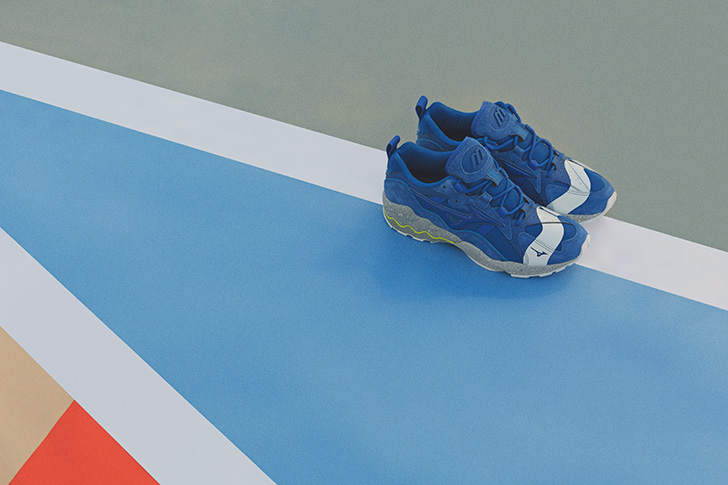 "Photo04 - ミズノから、mita sneakersとの初となるコラボレートモデルWAVE RIDER 1 ""NO BORDER""が登場"