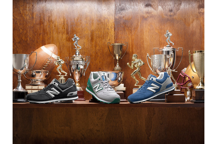 "Photo02 - NEW BALANCE 574 ""SEASON TICKET"" COLLECTION"