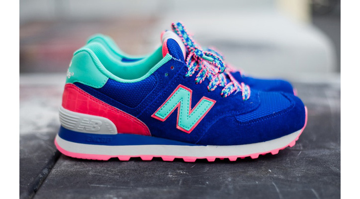 Photo01 - NEW BALANCE 574 BLUE CANDY