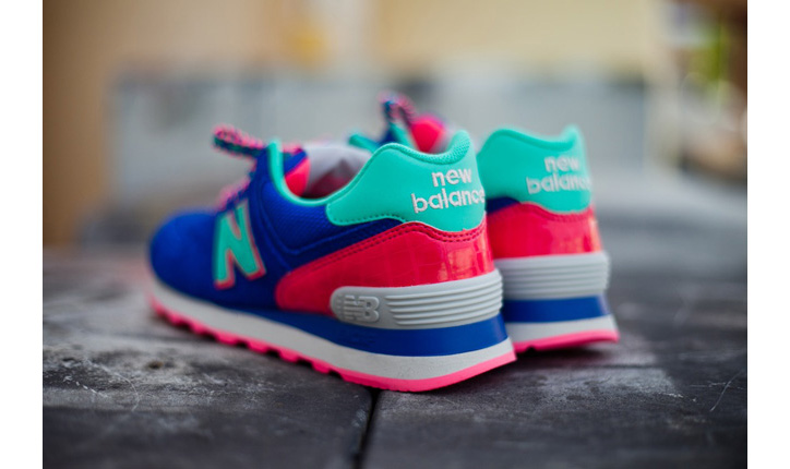 Photo05 - NEW BALANCE 574 BLUE CANDY