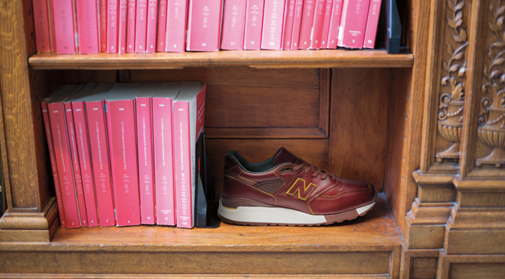 "Photo01 - HORWEEN LEATHER x new balance M998 ""Made in U.S.A"" を限定発売"