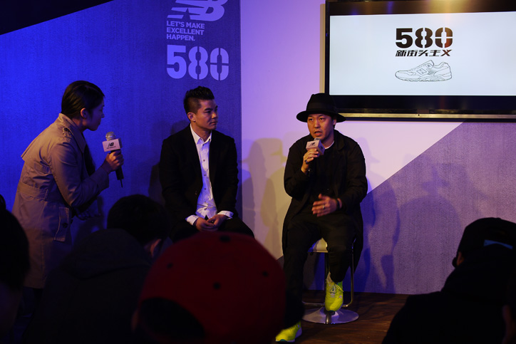 Photo05 - new balance 580 SHANGHAI EXHIBITION Recap