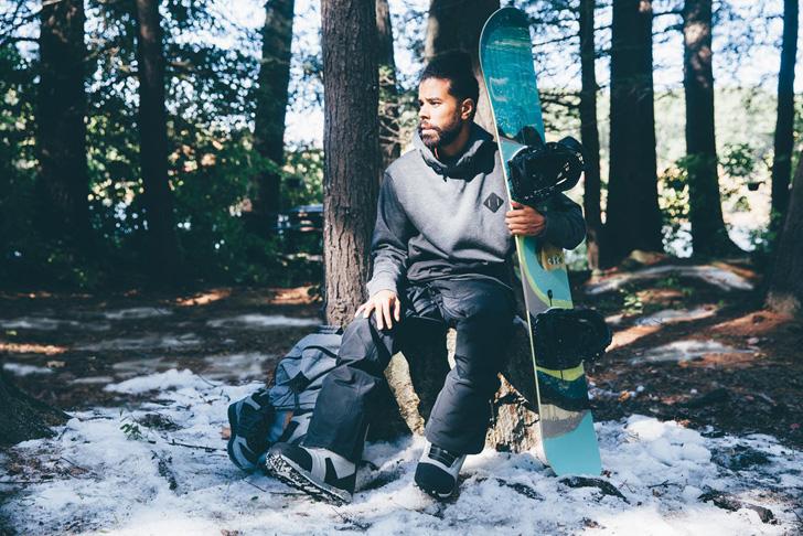 Photo05 - ニューバランスは、世界のトップスノーボードブランドBurtonとのリミテッド・コラボレーションラインをローンチ