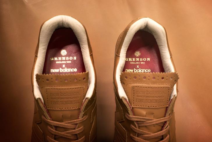 Photo03 - ニューバランスは、老舗英国革靴の名門Grensonとのコラボレーションモデルを発売