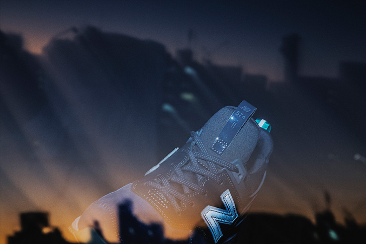 Photo14 - ニューバランスから、BLUE HOURと呼ばれるmita sneakersとのコラボレートモデルMS574が発売