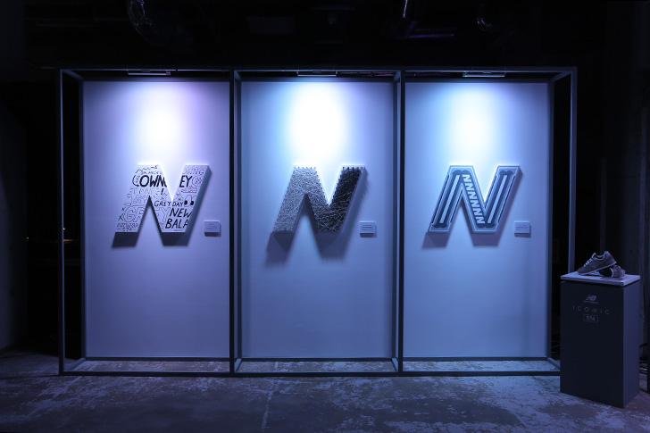 "Photo04 - ニューバランスを象徴する""グレー""の574の発売を記念したグローバルイベントNew Balance GREY DAYが開催"