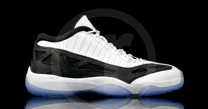 Photo01 - NIKE AIR JORDAN 11 LOW IE WHITE/BLACK
