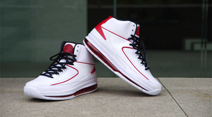 Photo01 - NIKE AIR JORDAN 2.0 WHITE/BLACK-VARSITY RED