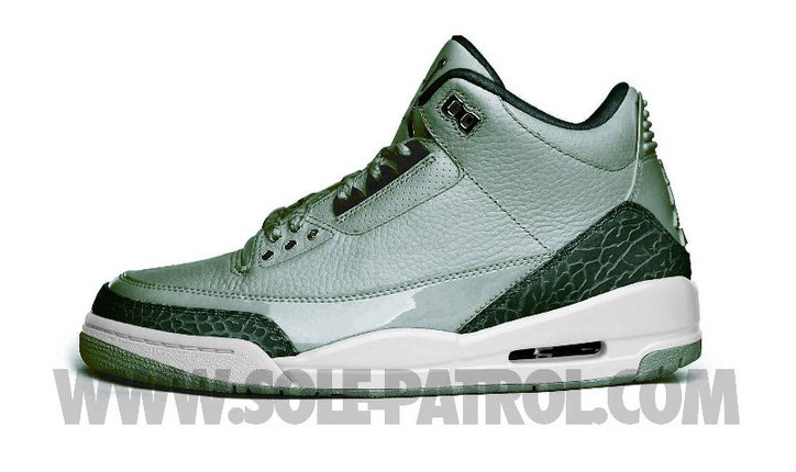 "Photo01 - NIKE AIR JORDAN 3 GREY/ BLACK CARBON/WHITE ""EXTRA ROUND"""