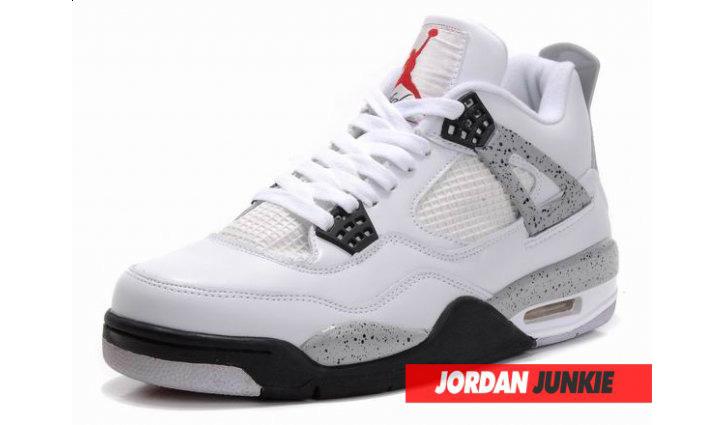 Photo01 - Nike Air Jordan IV White/Cement Grey Retro