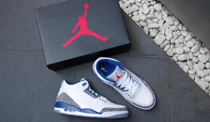 Photo02 - NIKE AIR JORDAN 3 RETRO WHITE/TRUE BLUE