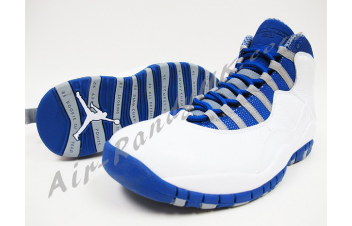 Photo02 - AIR JORDAN 10 WHITE/OLD ROYAL-STEALTH