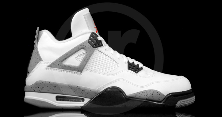 "Photo01 - AIR JORDAN 4 ""CEMENT"""
