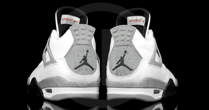 "Photo04 - AIR JORDAN 4 ""CEMENT"""