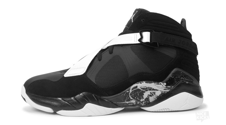 Photo01 - AIR JORDAN 8.0 BLACK/DARK CHARCOAL-WHITE