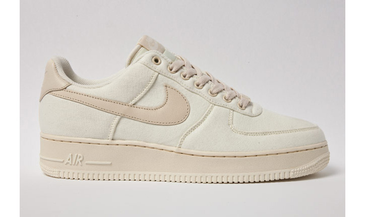 """Photo01 - NIKE AIR FORCE 1 LOW CANVAS """"CASHMERE"""""""