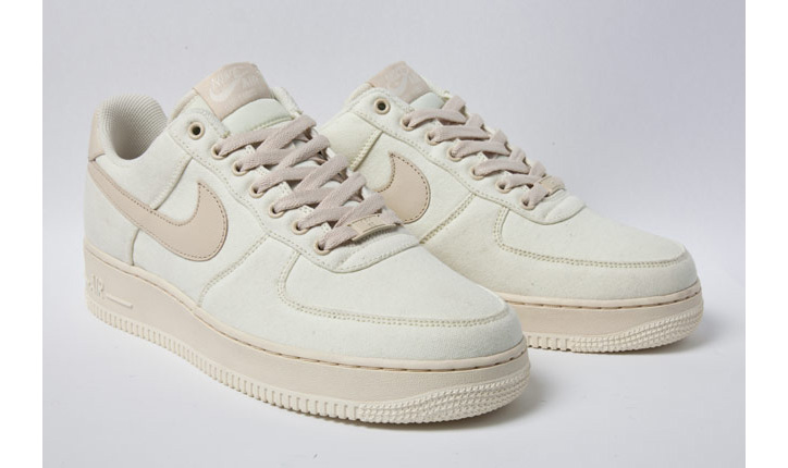 """Photo02 - NIKE AIR FORCE 1 LOW CANVAS """"CASHMERE"""""""