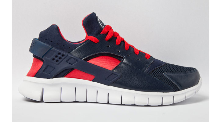 Photo01 - NIKE HUARACHE FREE CARDINALS