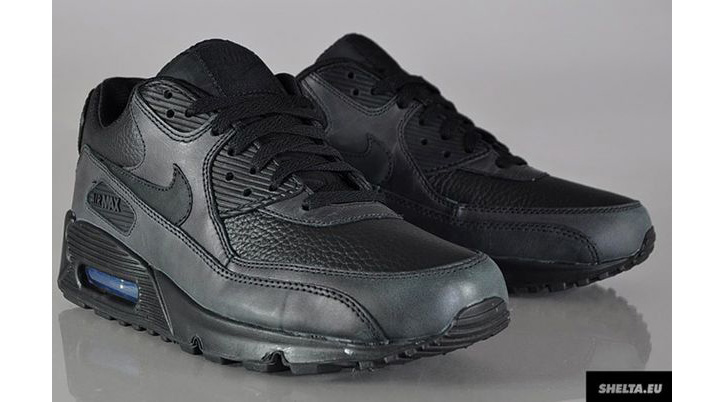 Photo03 - Nike Air Max 90 Black Leather
