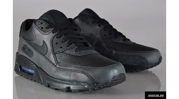 Photo03 - Nike Air Max 90 Black Leather