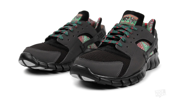 "Photo02 - NIKE HUARACHE FREE 2012 ""BLACK HISTORY MONTH"""
