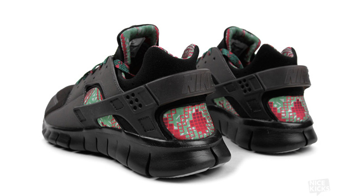 "Photo03 - NIKE HUARACHE FREE 2012 ""BLACK HISTORY MONTH"""