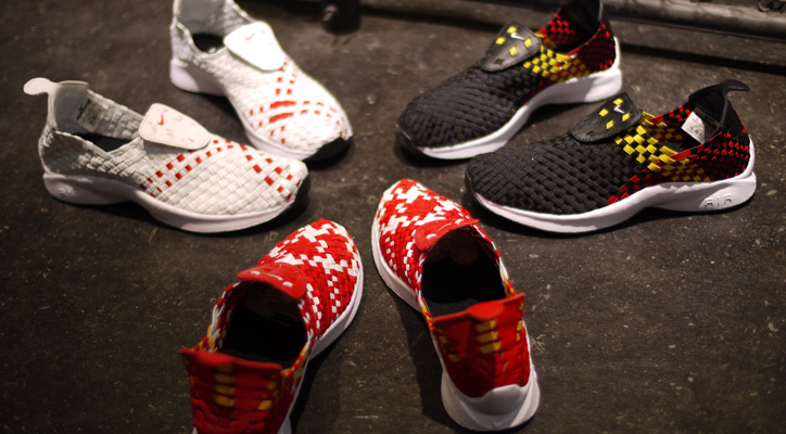 "Photo01 - NIKE AIR WOVEN ""LIMITED EDITION for NONFUTURE"""