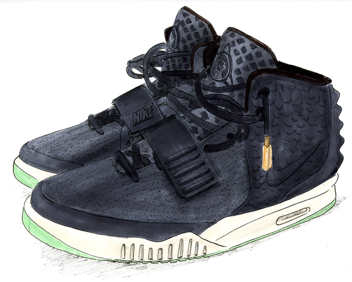 Photo08 - NIKE AIR YEEZY Ⅱ