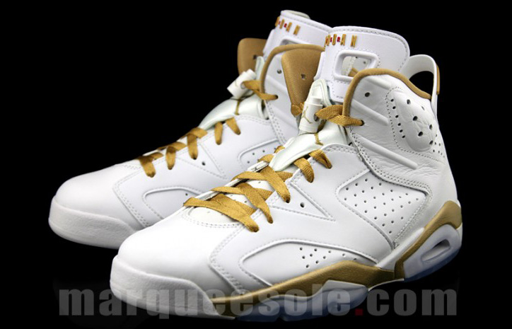 "Photo02 - AIR JORDAN 6 ""GOLD MEDAL"" PACK"