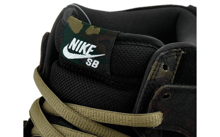 "Photo02 - NIKE SB DUNK HIGH PRO  ""CAMOUFLAGE"""