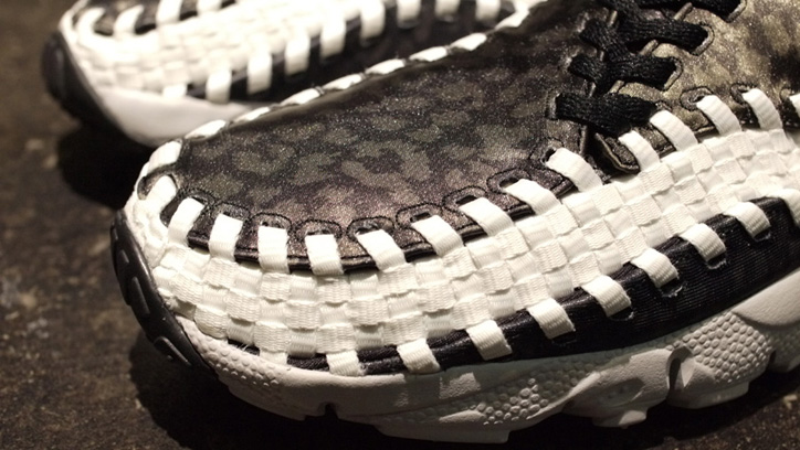 "Photo04 - NIKE AIR FOOTSCAPE WOVEN CHUKKA MONOTONE LEOPARD ""mita sneakers"""