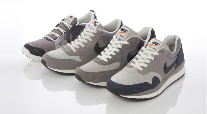Photo01 - NIKE GREY / NAVY COLLECTION