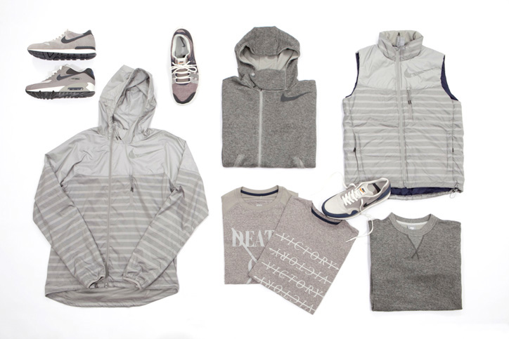 Photo03 - NIKE GREY / NAVY COLLECTION