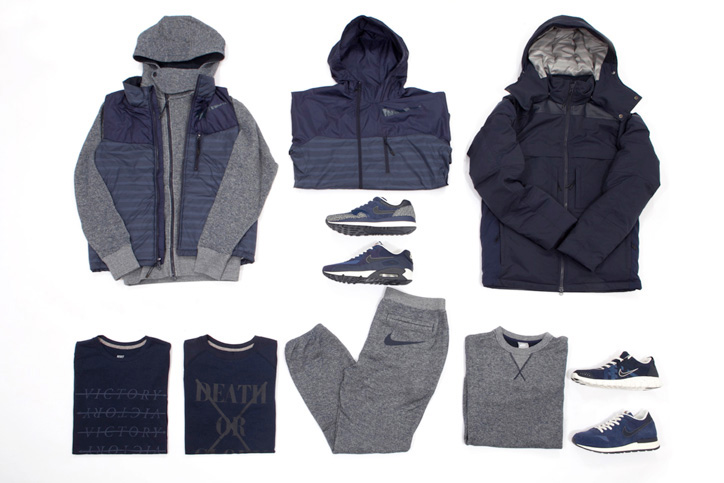 Photo04 - NIKE GREY / NAVY COLLECTION