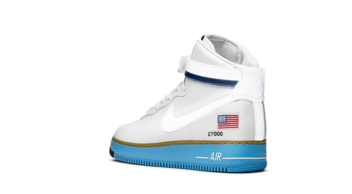 """Photo02 - NIKE AIR FORCE 1 HIGH BDAY """"XXX PEARL COLLECTION"""""""