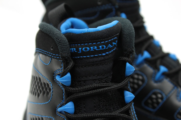 Photo03 - AIR JORDAN 9 RETRO BLACK/WHITE-PHOTO BLUE