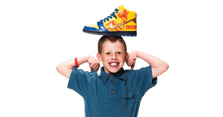 Photo02 - NIKE x DOERNBECHER FREESTYLE IX – 2012 COLLECTION