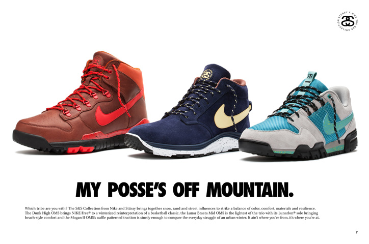 Photo02 - NIKE × STÜSSY「THE S&S OFF MOUNTAIN SERIES」